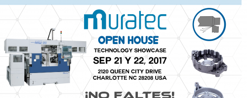 Open House Muratec Sep 2017