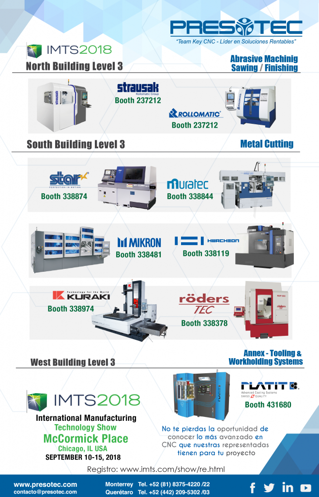f4ef2e56d7bc IMTS 2018, Chicago, IL USA 10-15 Sep 2018